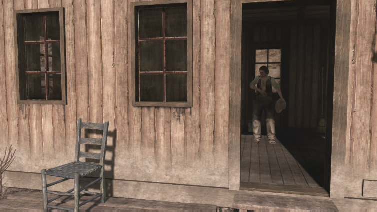 Tejcha playing Red Dead Redemption
