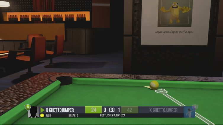 x GhettoJumper playing Pool Nation FX