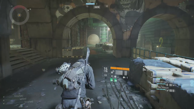 rihizzz playing Tom Clancy's The Division